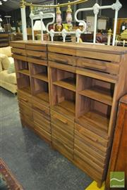 Sale 8383 - Lot 1429 - Open Chests of Drawers