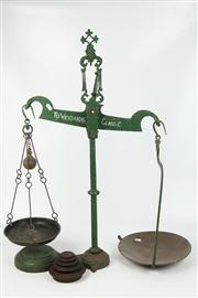 Sale 8410 - Lot 56 - Cast Iron Scales