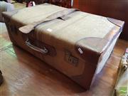 Sale 8469 - Lot 1015 - A vintage leather bound travelling port