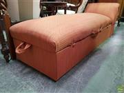 Sale 8570 - Lot 1054 - Fabric Upholstered Chaise (190cm)