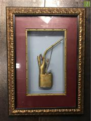 Sale 8645D - Lot 24 - Brass Opium Pipe