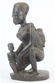 Sale 8654 - Lot 38 - Carved African Statue
