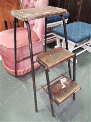 Sale 8672 - Lot 1065 - Vintage Step Stool