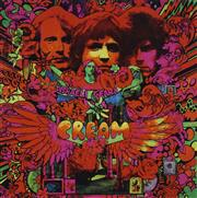 Sale 8713 - Lot 529 - Martin Sharp (1942 - 2013) - Disraeli Gears - Record Cover, 2013 89 x 88cm