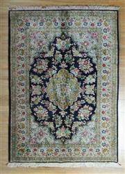 Sale 8717C - Lot 72 - Super Fine Persian Qum Pure Silk 200cm x 140cm