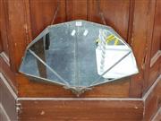 Sale 8717 - Lot 1078 - Art Deco Wall Mirror