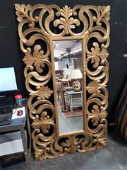Sale 8744 - Lot 1009 - Impressive Gilt Framed Mirror