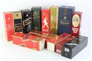 Sale 8802 - Lot 11 - Vintage Boxed Johnnie Walker Bottles (contentless bottles)
