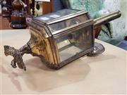 Sale 8822 - Lot 1184 - Brass Carriage Lantern with Eagle