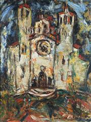 Sale 8838 - Lot 580 - Salvatore Zofrea (1946 - ) - Cathedral 105 x 75.5cm