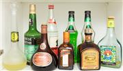 Sale 8855H - Lot 100 - A group lot of decorative bottles