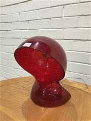 Sale 9056 - Lot 1081 - Red Coloured Artemide Table Lamp (H26cm)