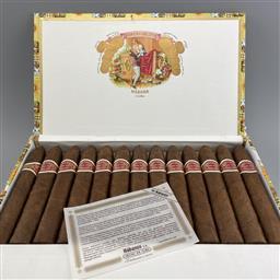 Sale 9165 - Lot 617 - Romeo y Julieta Belicosos Cuban Cigars - box of 25 cigars, dated November 2019
