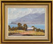 Sale 8297 - Lot 502 - Werner Filipich (1943 - ) - Road to Port Arthur, Tasmania 34 x 44.5cm