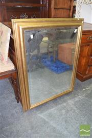 Sale 8390 - Lot 1395 - Gilt Framed Mirror