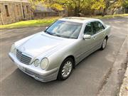 Sale 8576V - Lot 6 - 2001 Mercedes-Benz E200 Kompressor Sedan                         Reg: DVI 02X...
