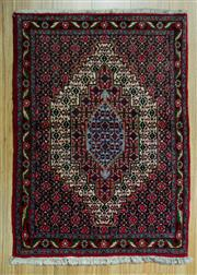 Sale 8601C - Lot 37 - Persian Bijar 104x75