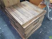 Sale 8601 - Lot 1466 - Set of Ten Timber Table Tops - XR 60T