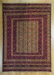 Sale 8643C - Lot 32 - Super Fine Persian Somak 200cm x 115cm
