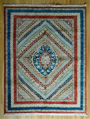 Sale 8680C - Lot 76 - Afghan Super Kazak 200cm x 153cm