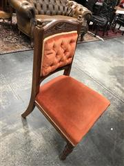 Sale 8868 - Lot 1597 - Set of 3 Timber Chairs