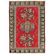 Sale 8880C - Lot 7 - Turkish Vintage Rose Kilim Carpet, 292x200 cm, Handspun Wool