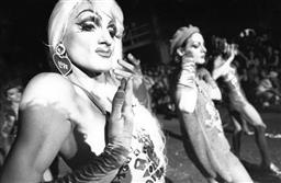 Sale 8912A - Lot 5011 - Dancers, Sydney Gay and Lesbian Mardi Gras Parade (1993), 30.5 x 20 cm, silver gelatin, Photographer: unknown