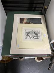 Sale 8906 - Lot 2075 - 20 Engraving Prints incl JRA Ashton An Old-Time Squatter, Frank P Mahony Native Troopers Dispersing a Myall Camp & WS Stacey A...