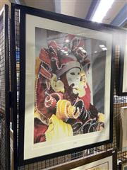 Sale 8978 - Lot 2015 - Weldon Brewster Pagano lithograph ed. 46/400, 82.5 x 67cm (frame)