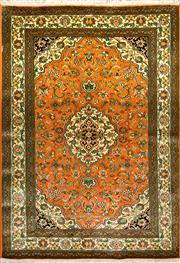 Sale 8307A - Lot 10 - Kashmiri Silk 181cm x 126cm RRP $2500