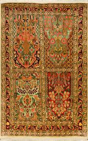 Sale 8412C - Lot 52 - Kashmiri Silk 120cm x 79cm