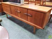 Sale 8451 - Lot 1041 - 1960s teak sideboard
