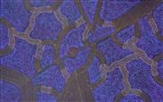 Sale 8527A - Lot 41 - Gracie Morton Pwerle (c1956 - ) - Womens Travelling Tracks 128 x 200cm (stretched & ready to hang)