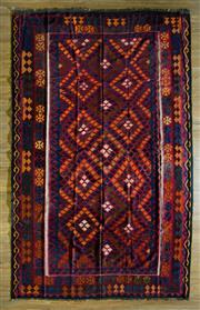 Sale 8680C - Lot 77 - Afghan Kilim 386cm x 250cm