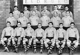 Sale 8754A - Lot 40 - Australian Rugby Union Team, 1967 - 21 x 30cm