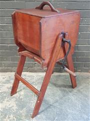 Sale 8984 - Lot 1086 - Vintage Timber Butter Churn (H:93 x W:45 x D:40cm)