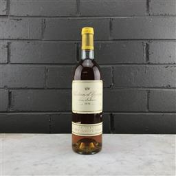 Sale 9089 - Lot 568 - 1976 Chateau dYquem, 1er Cru Superieur, Sauternes - 375ml half-bottle