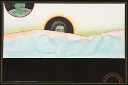 Sale 9212A - Lot 5082 - JEAN MICHEL FOLON (1934 - 2005) & MILTON GLASSER Alice Editions Poster Woodstock, 1977 offset lithograph (unframed) sheet: 61 x 91.5...