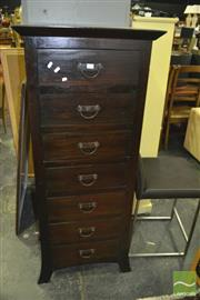 Sale 8383 - Lot 1324 - Oriental Style Chest of Drawers