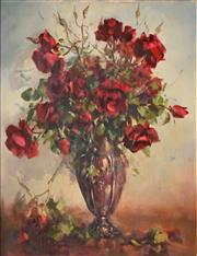 Sale 8510 - Lot 505 - Carole Milton (1937 - ) - Roses 60 x 50cm