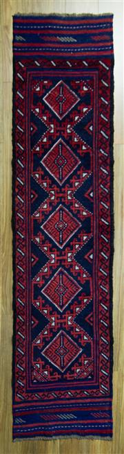 Sale 8601C - Lot 39 - Persian Baluchi runner 250x55