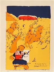 Sale 8652 - Lot 574 - Garry Shead (1942 - ) - The True Painter, 1978 46.5 x 67cm