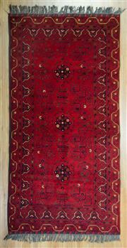 Sale 8643C - Lot 34 - Afghan Beljic Khal Mohamadi 205cm x 105cm