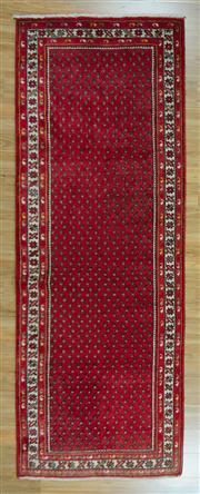 Sale 8653C - Lot 44 - Persian Husseinabad 307cm x 107cm