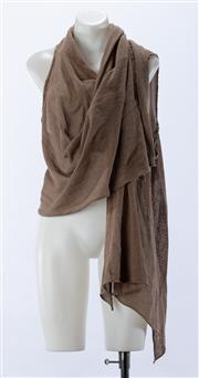 Sale 8910F - Lot 36 - A Scanlan & Theodore wrap knit top, approx size 6