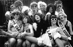 Sale 8912A - Lot 5013 - The Beauty Queens, Sydney Gay and Lesbian Mardi Gras Parade (1993), 29 x 19 cm, silver gelatin, Photographer: Andrew Taylor