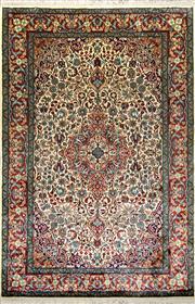Sale 8307A - Lot 11 - Kashmiri Silk 185cm x 124cm RRP $2500
