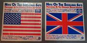 Sale 8320 - Lot 620 - Pair of long playing record with music from the 60s by American and British artists