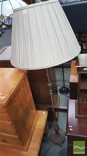 Sale 8390 - Lot 1407 - Brass Standard Lamp