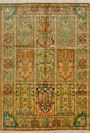 Sale 8418C - Lot 67 - Kashmiri Silk 184cm x 129cm